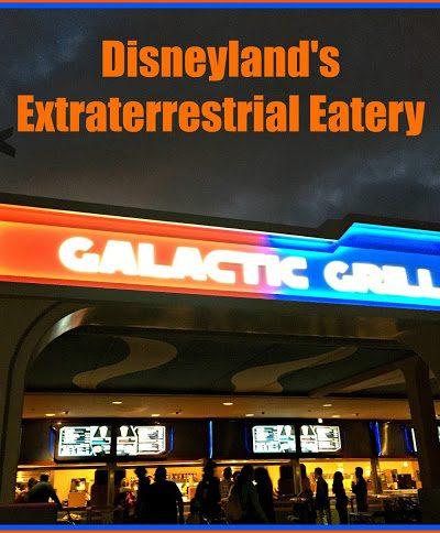Disneyland Galactic Grill