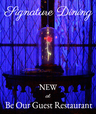 New Signature Dining at Be Our Guest Restaurant