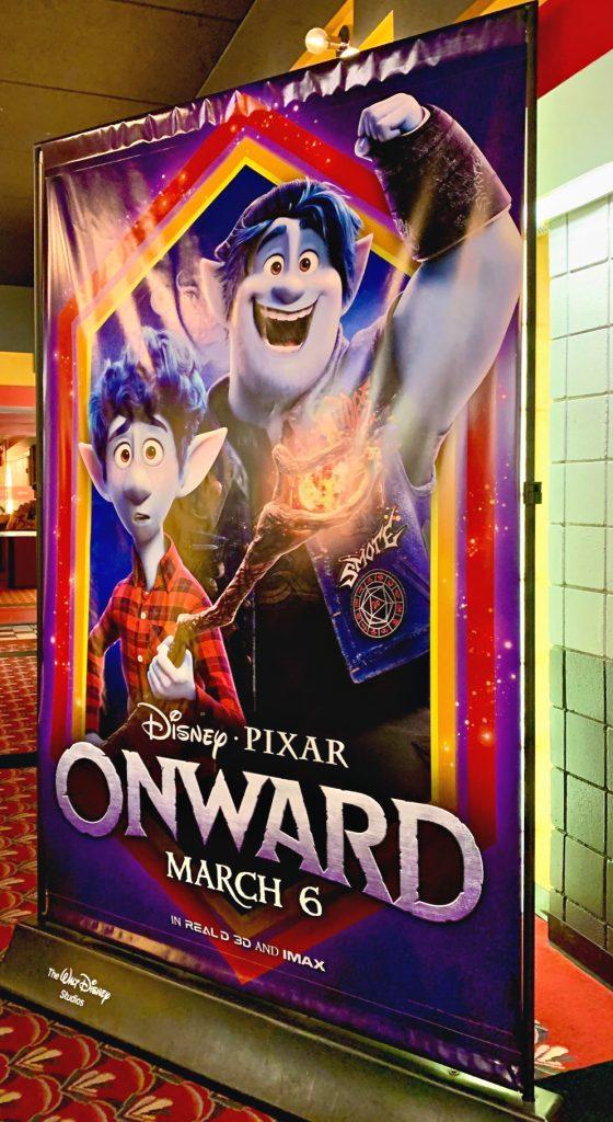 Disney Pixar Onward movie poster