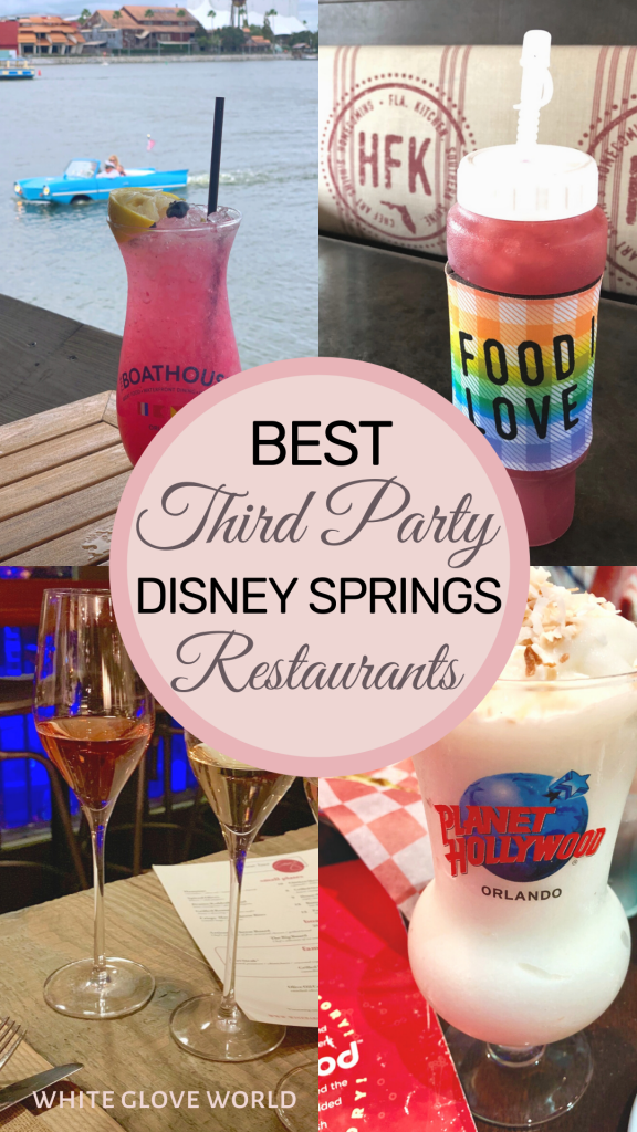 """Magic lives! After 66 unhappy days, Walt Disney World Resort is beginning its phased reopening. (It shuttered on March 15, 2020.) For us experiencing the DTs (that's DISNEY tremens), we are chomping at the bit. Personally, the biggest conundrum will be: """"Where do I eat first?!?"""" After extensive prior research, I've selected my finalists! So here are the Best Third-Party-Owned Disney Springs Restaurants. #DisneySprings #BestRestaurants #DisneyDining #Coronavirus"""