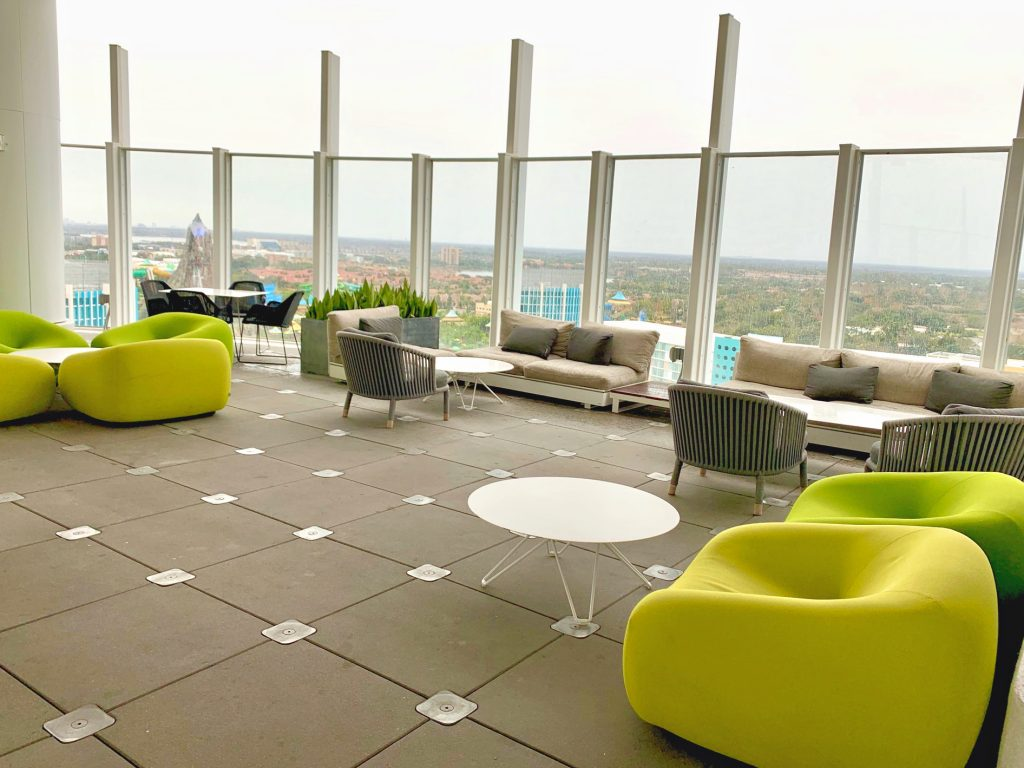 One of the best rooftop lounges in Orlando!