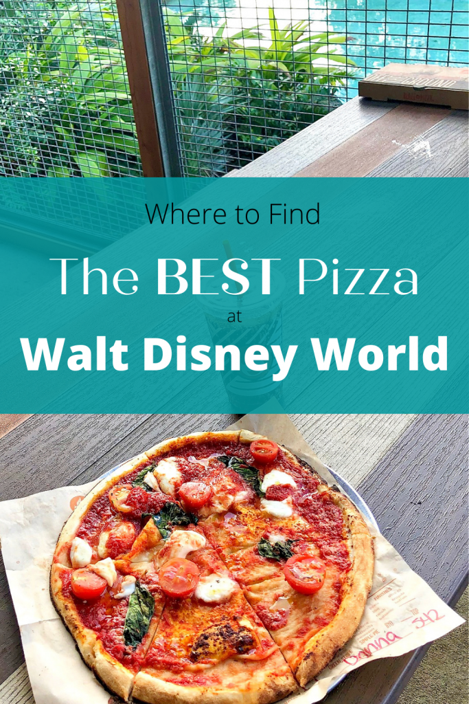 From Magic Kingdom to Disney Springs, here's where to find the BEST pizza at Walt Disney World! #WaltDisneyWorld #pizza #Disneydining #WhiteGloveWorld