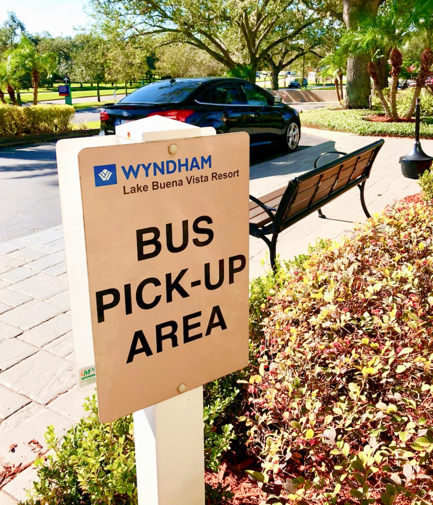 Wyndham Lake Buena Vista Complimentary Bus Shuttle to Walt Disney World Parks