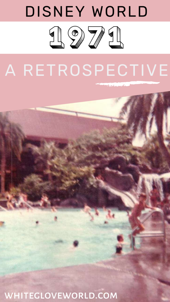 A retrospective look at Walt Disney World 1971; The Most Magical Place on Earth opens in Orlando, Florida. #50Daysto50Years #DisneyWorld #DisneyWorld50 #PolynesianVillage