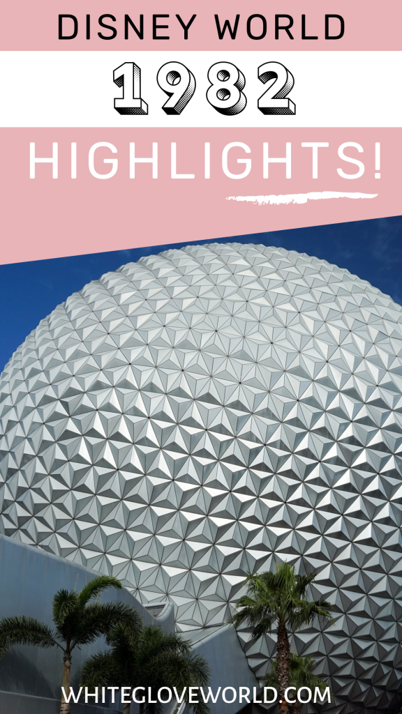 Walt Disney World1982 is a milestoneyear; Epcot, formerly known as EPCOT Center, opened in Disney World on October 1st. #DisneyWorld50 #50Daysto50Years #WaltDisneyWorld #Disneyhistory #1982 #EPCOT