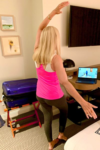 Silver and Fit is this physical therapist's new number one, absolute BEST travel fitness hack for your next road adventure.