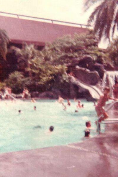 Disney's Polynesian Village Nanea Volcano Pool 1971