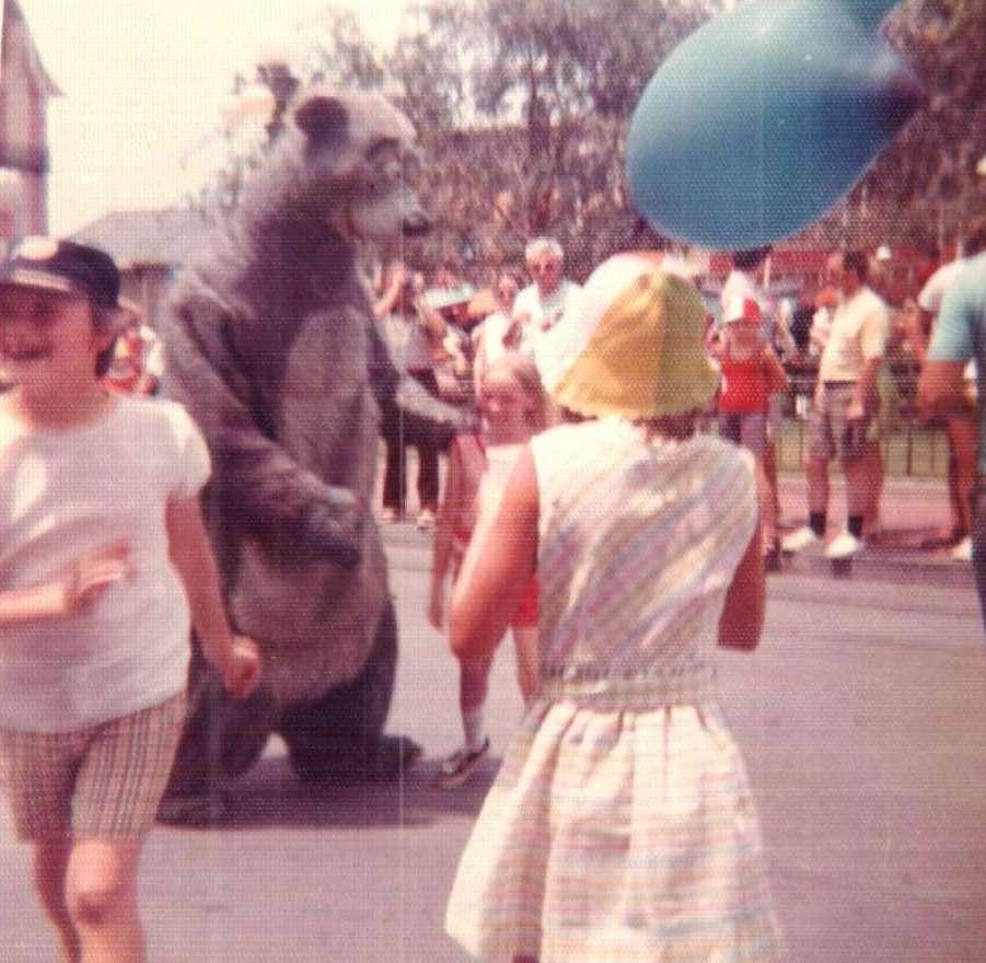 Mickey Mouse balloons circa 1972