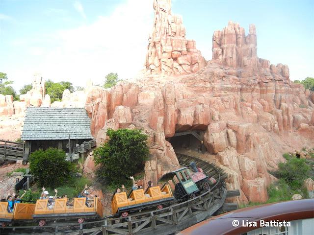 Big Thunder Mountain railroad opens at Walt Disney World in 1980.