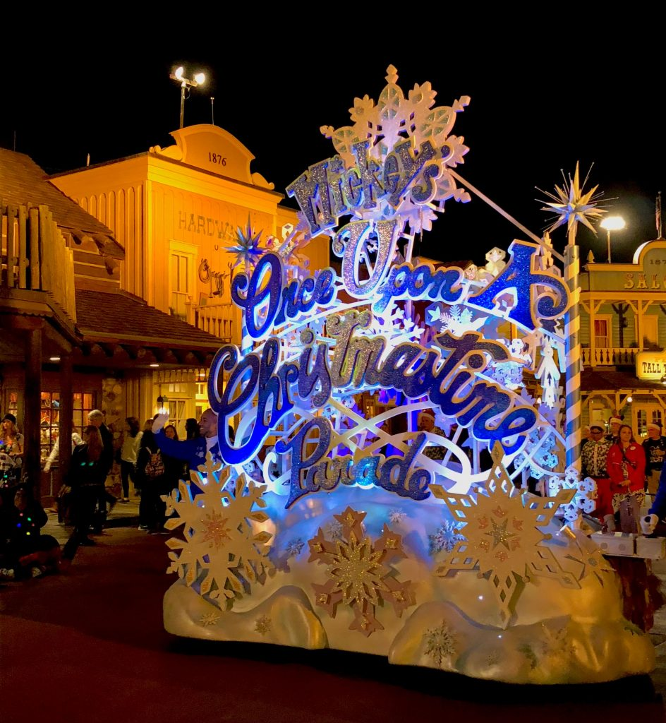 Disney World 1983 debuts the first Mickey's Very Merry Christmas Party.