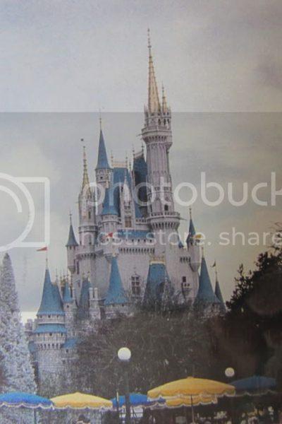 Cinderella Castle in 1987
