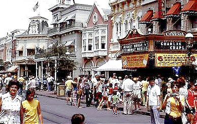 Main Street U.S.A. in 1973