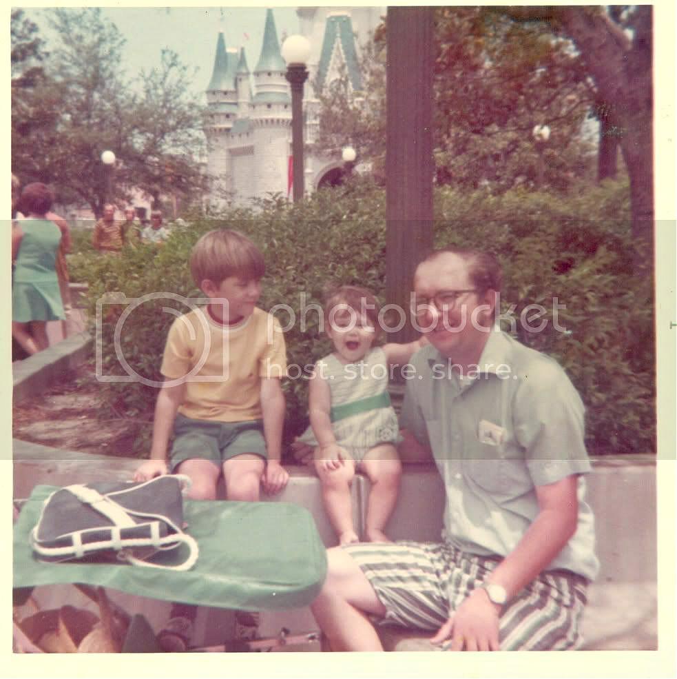 Walt Disney World family 1972