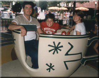 Walt Disney World Mad Tea Party 1986
