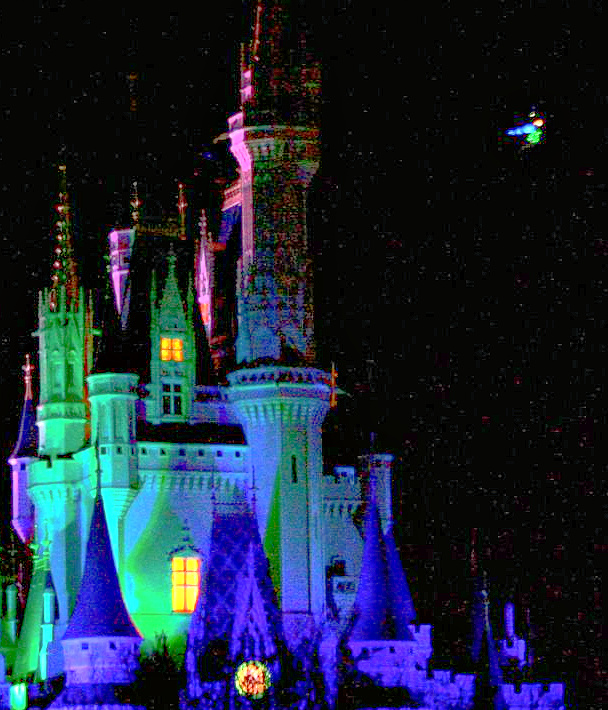 Walt Disney World 1985 welcomes Tinker Bell's first Nighttime Flight over Cinderella Castle and Nine Dragons Restaurant opens in EPCOT.