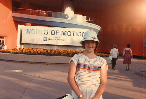 EPCOT World of Motion in 1984