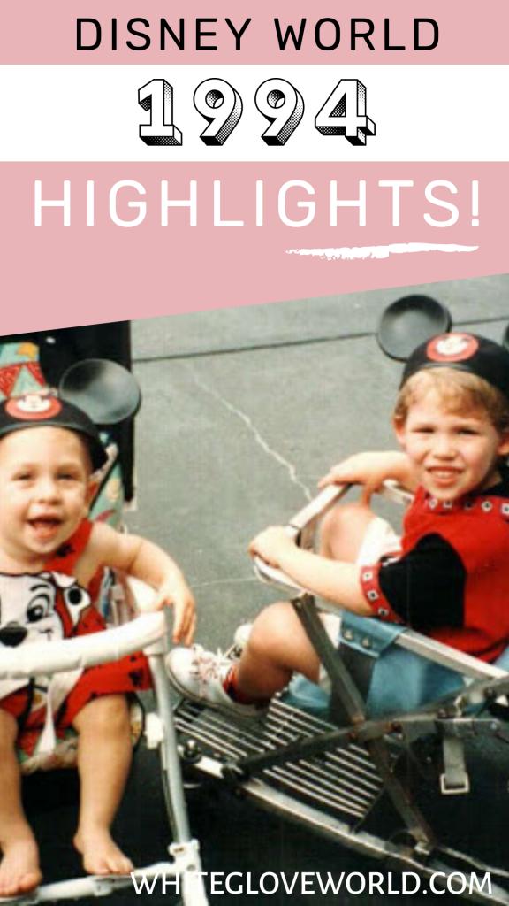Walt Disney World 1994 celebrates the 5th anniversary of Disney-MGM Studios, where  The Twilight Zone Tower of Terror opens for Guests. #DisneyWorld50 #50Daysto50Years #Disney #Disneyhistory #Disneycountdown #1994 #TowerofTerror #Aladdin #autographbooks