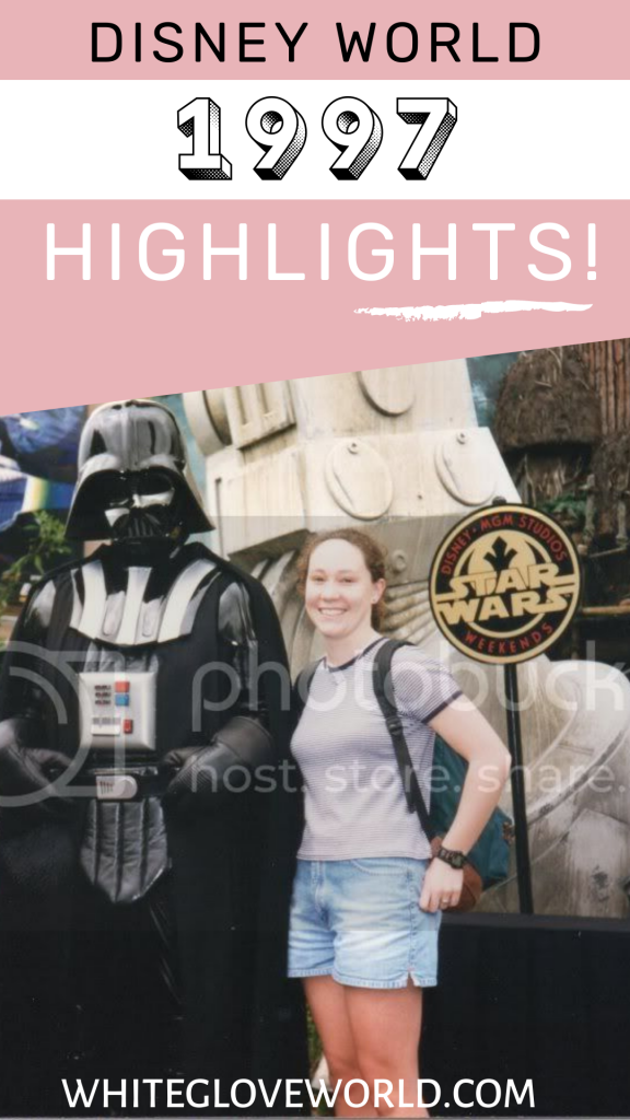 "Walt Disney World celebrated its 25th anniversary in 1997-  ""Remember the Magic."" Star Wars Weekends kicks off in Disney-MGM Studios. #DisneyWorld50 #50Daysto50Years #Disneyhistory #StarWarsWeekends #25thbirthday"