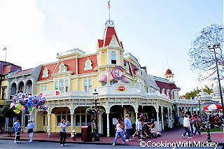 The iconic Casey's Corner opens at Disney World in 1995.