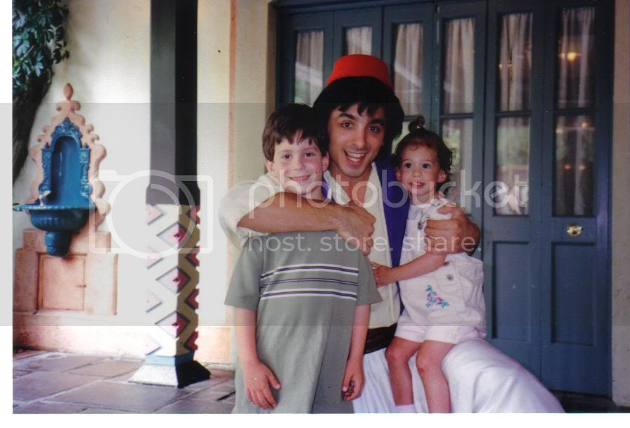 Aladdin Character Meet and Greet Walt Disney World 1998