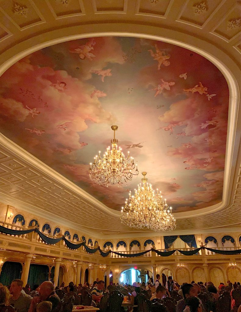 The Grand Ballroom at Be Our Guest Restaurant