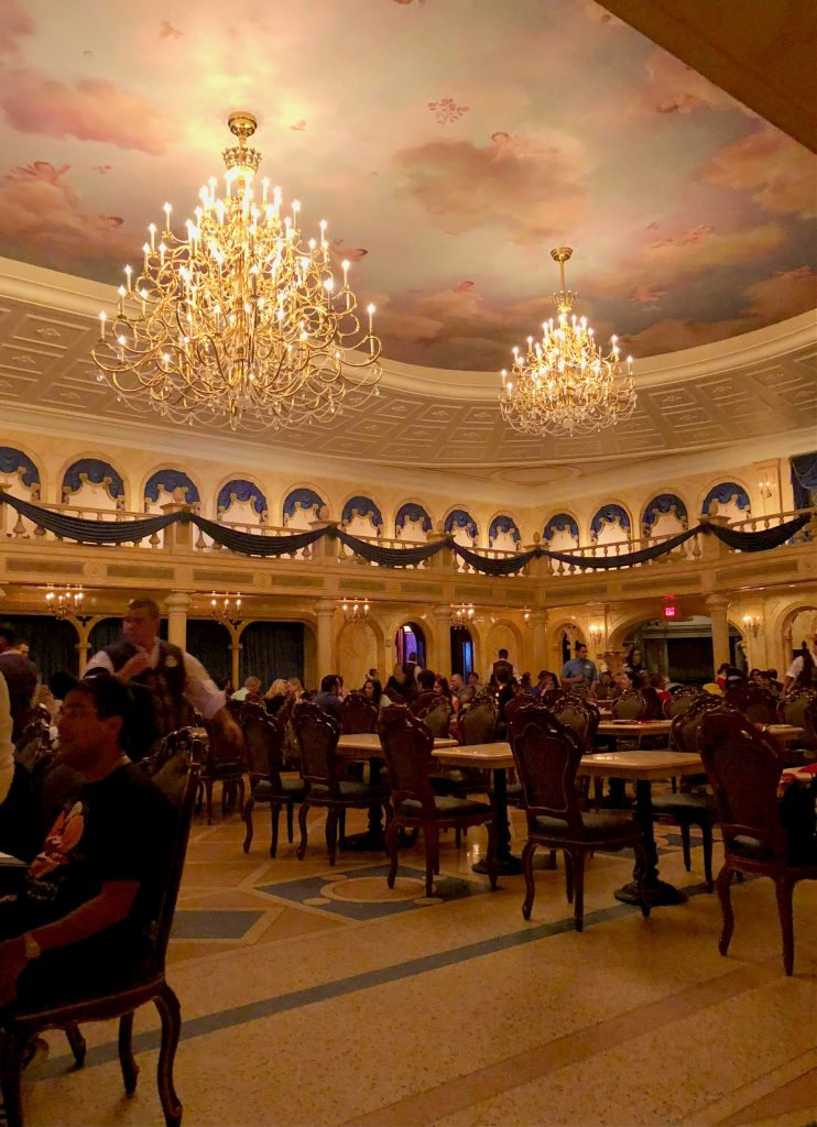 Be Our Guest Ballroom Walt Disney World 2014
