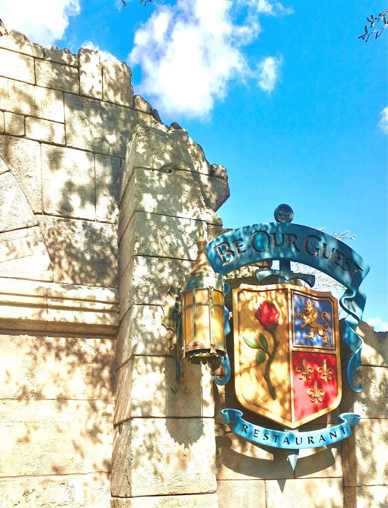 Walt Disney World 2013 welcomes Be Our Guest Restaurant
