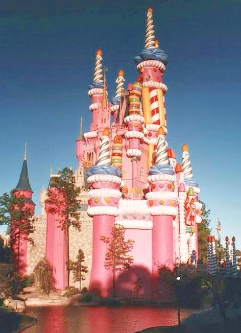 Walt Disney World 1996 25th Birthday Cinderella Castle Cake