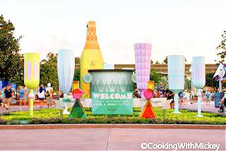 Epcot International Food and Wine Festival premiers at Walt Disney World Resort in 1995.