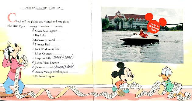 Walt Disney World Water Sprites 1994