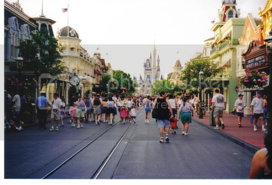 Main Street, U.S.A. in Walt Disney World 1998