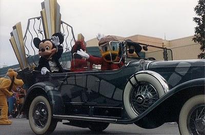 Disney Stars & Motorcars Parade at MGM Studios in 2002