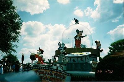 Share a Dream Come True Parade at Magic Kingdom 2002