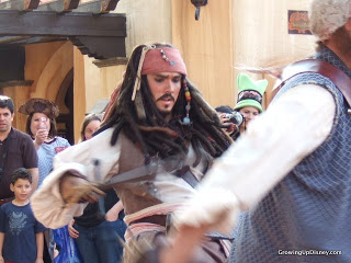 Captain Jack's Sparrow's Pirate Tutorial,
