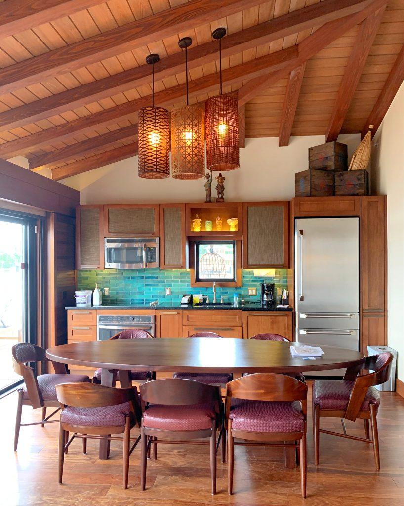 Disney's Polynesian Bungalow Kitchen