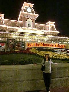 Let the Memories Begin in Walt Disney World 2012.