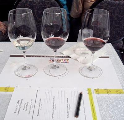 Epcot International Food & Wine Festival Wine Tasting